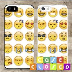 Emoji Phone Case 1 Emoji Phone Case - I have one for iphone 5s - brand new - hard plastic - it has openings for all the ports and buttons - good quality - make offer - Accessories Phone Cases