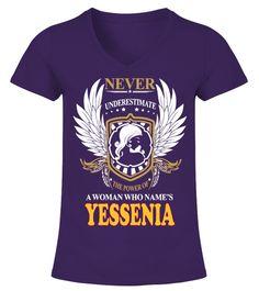 A Woman Who Names YESSENIA