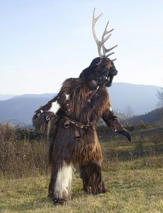 Stunning images of pagan costumes worn at winter celebrations around the world | Dangerous Minds