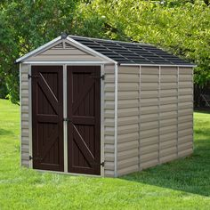 SkyLight™ 6 Ft. W x 10 Ft. D Polycarbonate Storage Shed