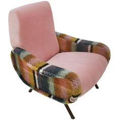 Armchair Mod. Lady Designed by Marco Zanuso and Edited by Arflex