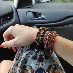 Máte rádi podzimní barvy?  #podzimjetu#naramky #náramky#naramek#podzim#autumncolors#autumnbracelets… Bracelets, Leather, Jewelry, Fashion, Moda, Jewlery, Jewerly, Fashion Styles, Schmuck