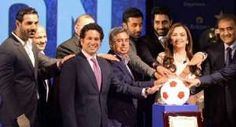 Indian Super League gets a glittering launch