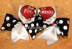 Cheer Bow on Etsy, $25.00