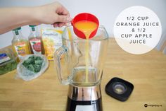 How to Make the Jugo Juice Mighty Kale Smoothie At Home!