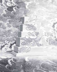 8 Platinum Wedding Cakes | To the Letter