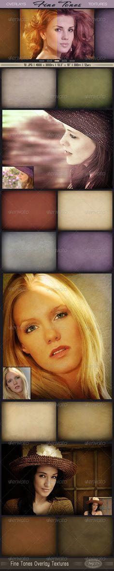 Photo Overlay Fine Tones Textures