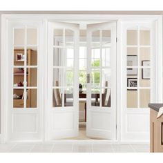 Newland Pine French Doors 1981x1168mm - Internal French Doors - Interior Timber Doors -Doors Windows - Wickes
