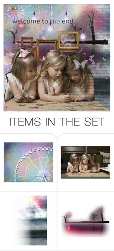 """""""puzzle pieces..."""" by journeyon ❤ liked on Polyvore featuring art"""