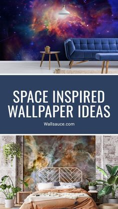 Create the ultimate galaxy-inspired home decor in your living room or bedroom with a wallpaper mural from Wallsauce.com! From distant galaxy designs in rich blues and bright purple shades to more subtle metallic and marble-like galaxy designs, there is something for every astronomy lover or budding astronaut to create the perfect space-themed home décor! Get the look at Wallsauce.com! Grey Marble Wallpaper, Navy Wallpaper, Star Wallpaper, Bedroom Wallpaper, Nebula Wallpaper, Planets Wallpaper, Galaxy Wallpaper, Pastel Grey, Bright Purple