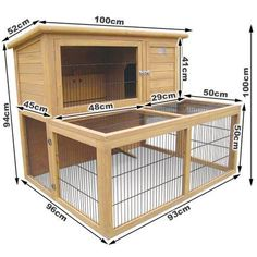 Sublime DIY Rabbit Hutch Plans & Ideas You'll Love https://meowlogy.com/2018/05/09/diy-rabbit-hutch-plans-ideas-youll-love/ Having rabbits as a pet is quite easy, since they take very little to eat and can groom themselves. If you ever think of raising rabbits; then you'll need to take a look at these DIY rabbit hutch plans & ideas, as your very first start.