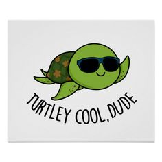 Cute Turtle Drawings, Cute Turtle Cartoon, Easy Drawings, Cute Cartoon, Parking Spot Painting, Turtle Quotes, Kid Puns, Cute Puns, Funny Puns