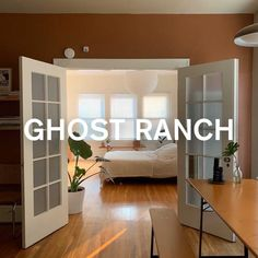 GHOST RANCH, inspired by Georgie O'Keefe's home, a warm, earthy terracotta paint color by Backdrop paint. Terra Cotta Paint Color, Terracotta Paint, Best Neutral Paint Colors, Old Building, Interior Walls, Exterior Paint, Ranch, Backdrops, Warm