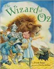 The Wizard of Oz, Anniversary Edition by Charles Santore, L Frank Baum 0375811370 9780375811371 Sterling Publishing, Children's Book Illustration, Book Illustrations, Children's Literature, Fantasy Books, Fantasy Art, Figure Painting, Childrens Books, Kid Books