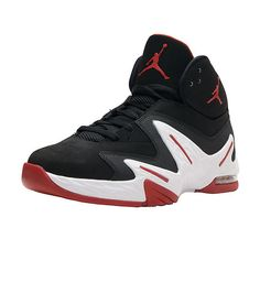 f6297c1a6cb8fe Nike Jordan True Flight Mens 342964-010 Black Cool Grey Basketball ...