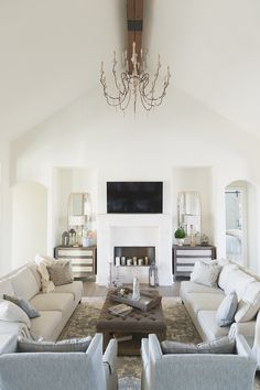 French Chandelier Frenchchandelier Coastal Living Rooms