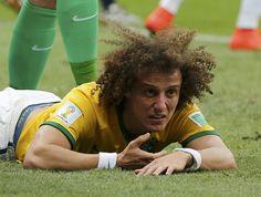 David Luiz Brasil x Holanda (Foto: Reuters). 12/07/2014.