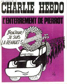 Charlie Hebdo - N° 68 - Lundi 6 Mars 1972 - Couverture de Gébé