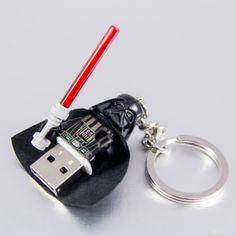 #Vader #Pendrive 8GB #USB #lego #flash #pendrive #minifigures #handmade #brick-craft http://pl.dawanda.com/shop/brickcraft