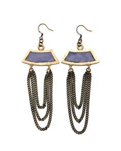 Keely Lavender Earrings