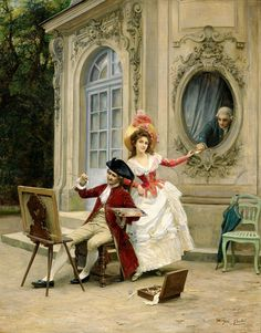 """Ballavoine Jules Frederic - Love Pismo (from <a href=""""http://www.oldpainters.org/picture.php?/44887/category/15126""""></a>)"""
