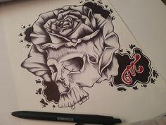 Skull, Tattoos, Art, Art Background, Tatuajes, Tattoo, Kunst, Performing Arts, Tattos