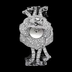 watch PIAGET. White gold and diamonds