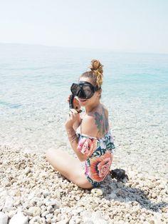 nellenoell.dk kroatien guide, snorkling i Kroatien, podgora maraskaska sibenik