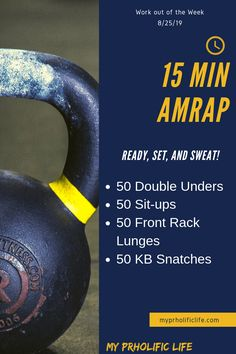 Workout of the Week This Workout of the Week will get your heart racing. A great full body workout for at home or the gym that can help you stay in shape! Hiit, Cardio Training Zu Hause, Stay In Shape, Muscle Mass, Lose Belly Fat, How To Run Longer, Body Weight, Weight Loss Tips, Losing Weight