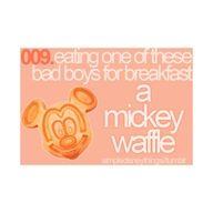 That is all I eat for breakfast when I am in Walt Disney World.