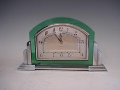 Mappin & Webb An Art Deco desk clock, circa 1930