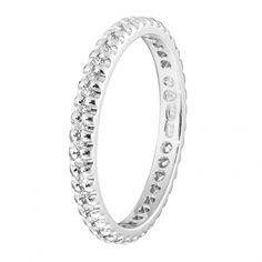 Kalevala Koru / Kalevala Jewelry / Sadepisarat-sormus 0,01 ct / 18K valkokulta…