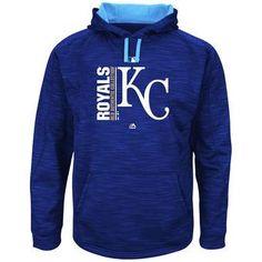 ea78376dc Kansas City Royals Majestic MLB Blue Team Icon Streak Fleece Pullover Hoodie