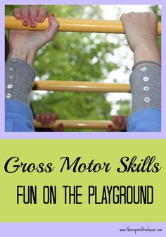 Therapeutic benefits from playground equipment
