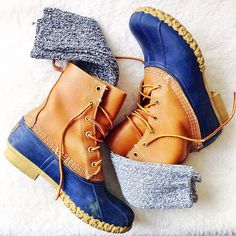 It's almost Bean Boot season! Who's ready? #llbean #fallstyle