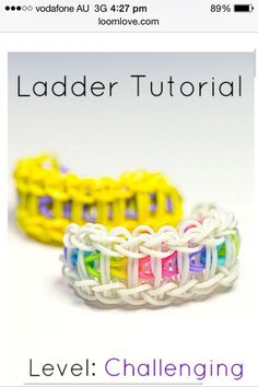 Ladder Bracelet tutorial