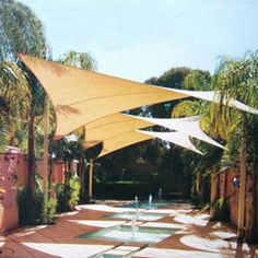 Quictent Rectangle Outdoor Sun Shade Sail Canopy Patio Cover Sand for sale online Pool Shade, Backyard Shade, Patio Shade, Backyard Pergola, Pergola Shade, Pergola Plans, Pergola Ideas, Pergola Kits, Pergola Roof