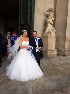Our Ste and Claire's wedding