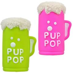 Pup Pop Vinyl Dog Toys
