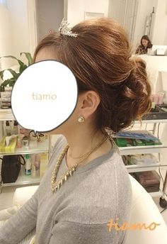 ドレスから和装にチェンジのお洒落な花嫁さま3スタイル♪リハ編 |大人可愛いブライダルヘアメイク『tiamo』の結婚カタログ