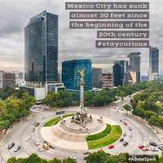 Mexico City has sunk almost 30 feet since the beginning of the 20th century https://curionic.com/blog/mexico-city-has-sunk-almost-30-feet-since-the-beginning-of-the-20th-century?utm_content=buffer18e42&utm_medium=social&utm_source=pinterest.com&utm_campaign=buffer #staycurious #facts #fact