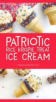 Fun July 4th Rice Krispie Treats For Kids