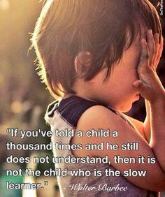 Zoek de juiste 'ingang' bij elk kind. Neem het kind als uitgangspunt, niet jezelf.