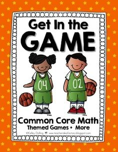 Looking for a theme to help bridge that gap from St. Pat's to Easter?? Try riding on the coattails of the NCAA Basketball Tournament. Sports are always a no-brainer hook for kiddies!!!My goal with this packet was to create a series of common core flavored math games and activities that were perfect for those long spring afternoons.