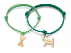 Create your souvenir with the bone and dog bracelets by Lilou! available in silver and gold-plated String Bracelets, Friends Forever, Bones, Elephant, Jewellery, Dog, Create, Silver, Gifts