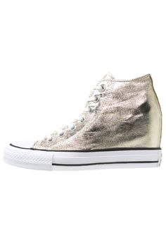 iconische Converse CHUCK TAYLOR ALL STAR MID LUX METALLIC Sneakers hoog  light gold/white/