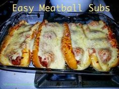 Easy Meatball Subs Recipe - Plan Provision