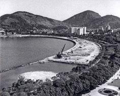 Aterro da praia de Botafogo Rio de Janeiro 1949