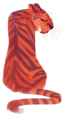 147: Tiger by dailycatdrawings