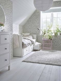 Make the most out of your small bedroom with these space-saving finds from IKEA! Learn how to maximize your studio or one-bedroom apartment with these clever items that work double duty. For more small space decorating ideas, head to Domino.